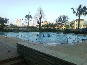 プールにて家族で避暑を楽しんでいただけます
