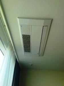 室内のエアコンは全てビルトインです