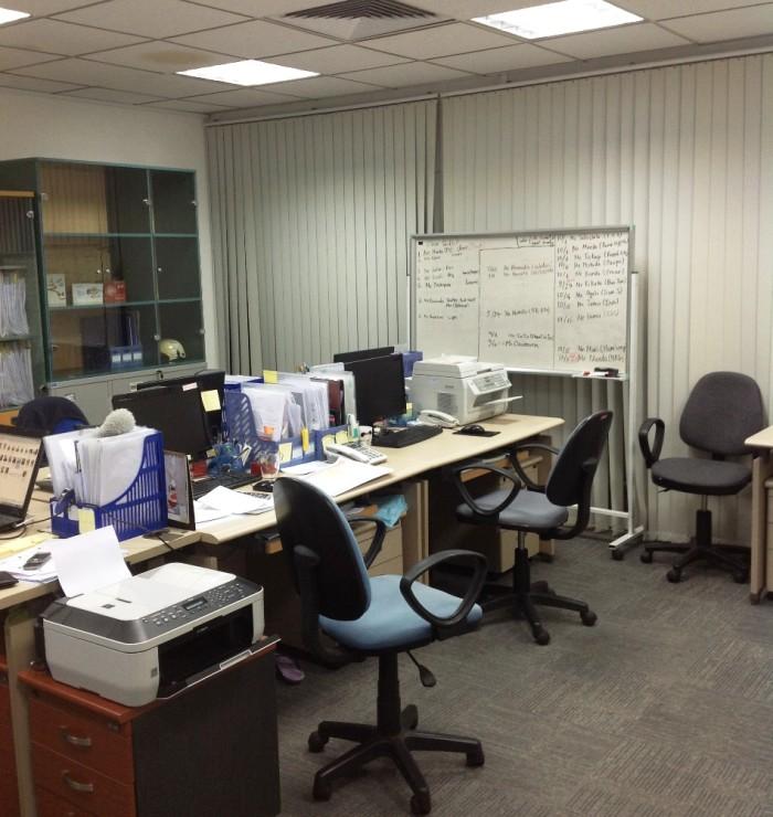 ハノイリビングのオフィス風景