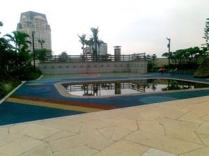 Keangnam Hanoi Landmark Tower4階の広場スペース