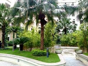 The Manor中庭にある癒し空間2
