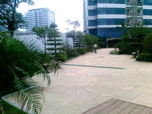 Keangnam Hanoi Landmark Tower4階広場スペース2