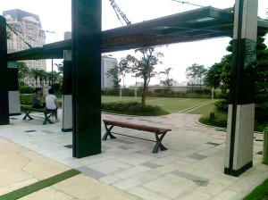 Keangnam Hanoi Landmark Tower4階広場スペース7