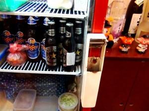 サッポロビールも冷えています