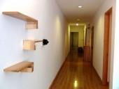 ゆったりとした廊下
