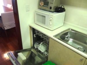 食器洗浄機付きのキッチン