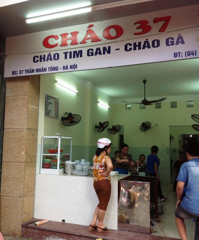 「CHAO37」は元の37 Tran Nhan通りに戻ってきたんです。直ぐ近くに移動しています