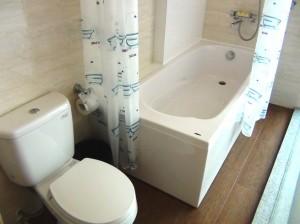 水回り(トイレ、バスタブ)もTOTO、INAX製です