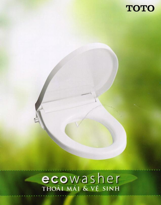 電気いらずのTOTO製ウォシュレット「eco washer」
