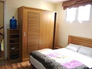 明るいベッドルーム(Studioタイプ)