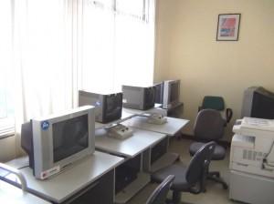 ビデオ図書の視聴室