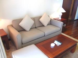 リビングのソファーセット
