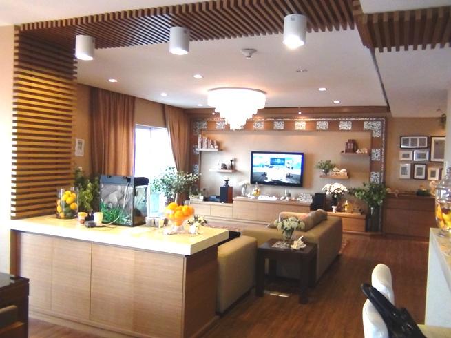 オーナーが大改装を施した3ベッドルーム「全室茶色のシックな色で統一されています」