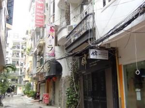 日本人男性客向けのラウンジもたくさん軒を連ねています