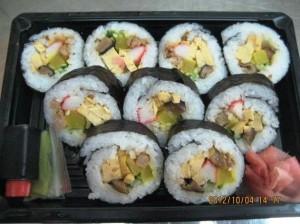 巻き寿司_85.000VND(350円)