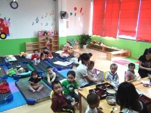 保育園も兼ねているのが桜モンテッソーリ幼稚園の特徴です