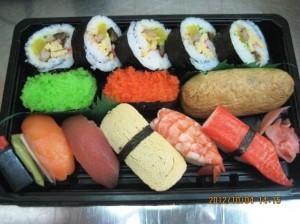 寿司盛り合わせ_150.000VND(610円)