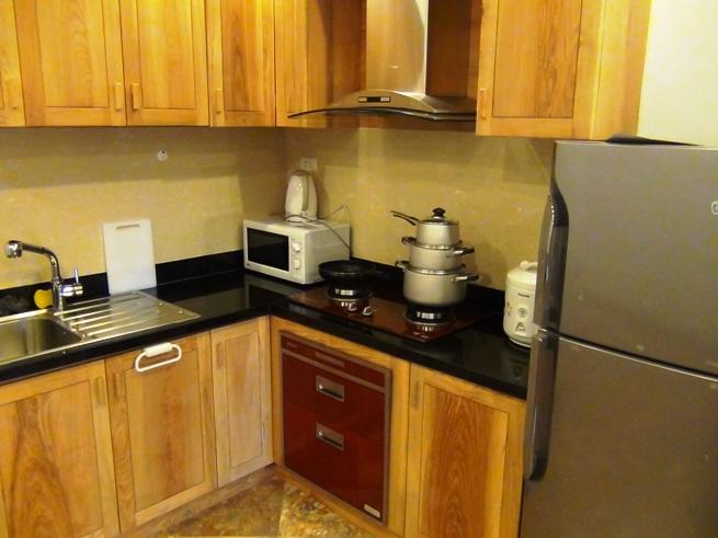 清潔感溢れるキッチンスペース