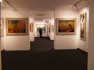「Viet Fine Arts」画廊の中の風景6