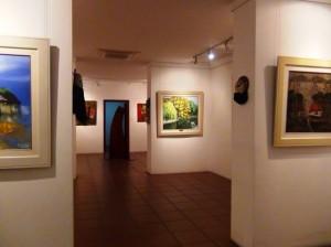 「Viet Fine Arts」画廊の中の風景3