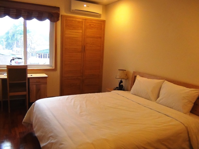 2ベッドルームの主寝室