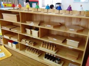 モンテッソーリ教育で使う道具