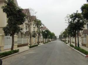 整備が進んだ街路