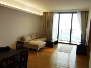 3ベッドルームのリビング風景