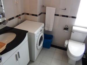 洗濯機にウォシュレットは標準装備です