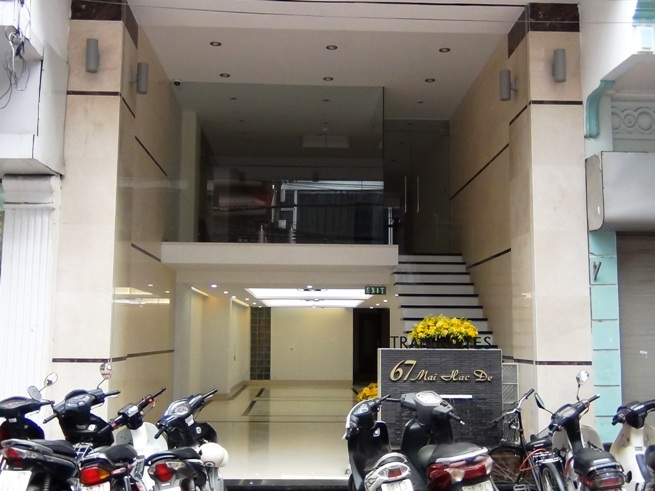 2階のオフィススペースの外観