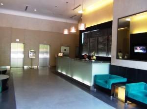 Pacific Placeオフィス棟の受付エントランス2
