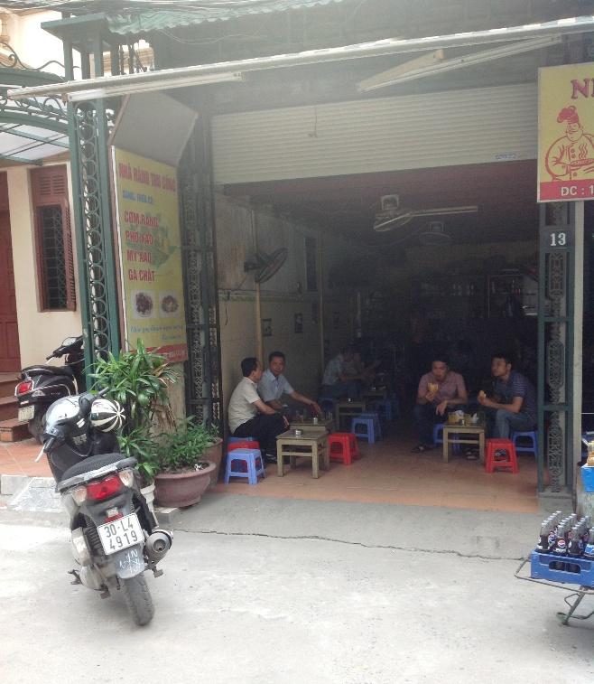ベトナムの男性はのんびり屋が多い・・・「ロックオン」の対象には間違ってもならないのでしょうね・・
