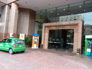 Hanoi Tower(ハノイタワー)のOffice正面玄関
