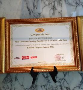 ウエストレイクエリアで最も住み心地の良いサービスアパートとして表彰されています