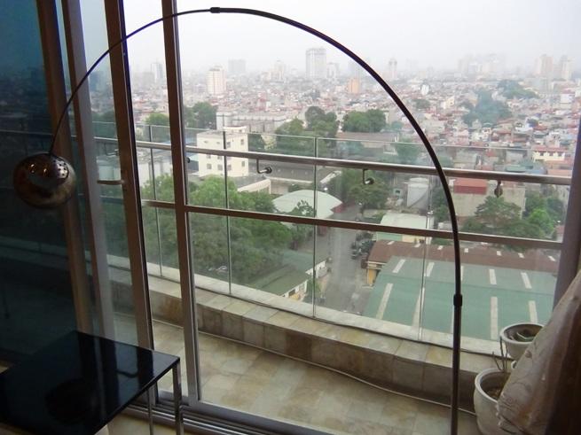 15階から見下ろすCity View「ベランダの向きは南向きです」