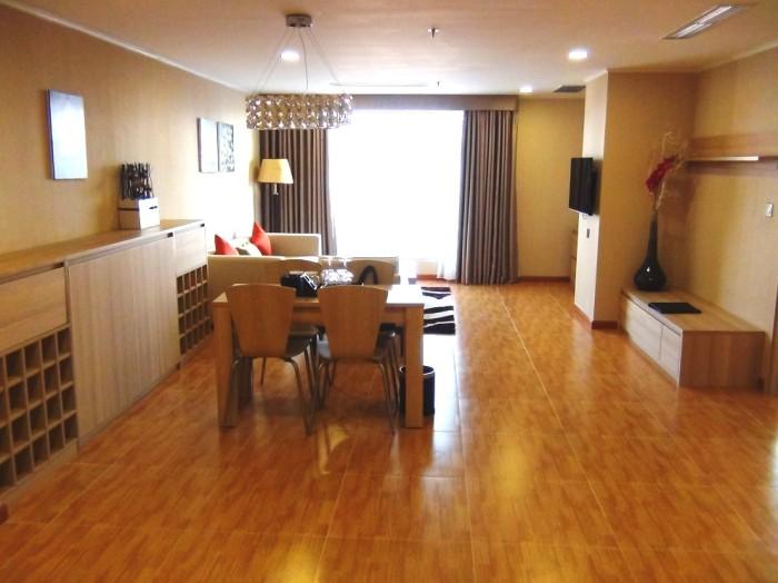 91.9㎡と一番広い1ベッドルームのリビングです
