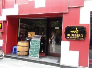 ワインレストラン「店内はほとんど西洋の方でした」