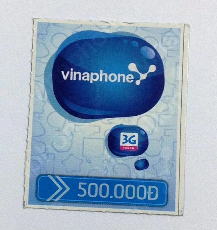 500.000VND(約2.300円)分のチャージをしました