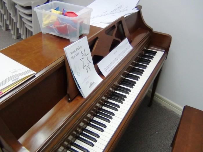 音楽教室にあるオルガン