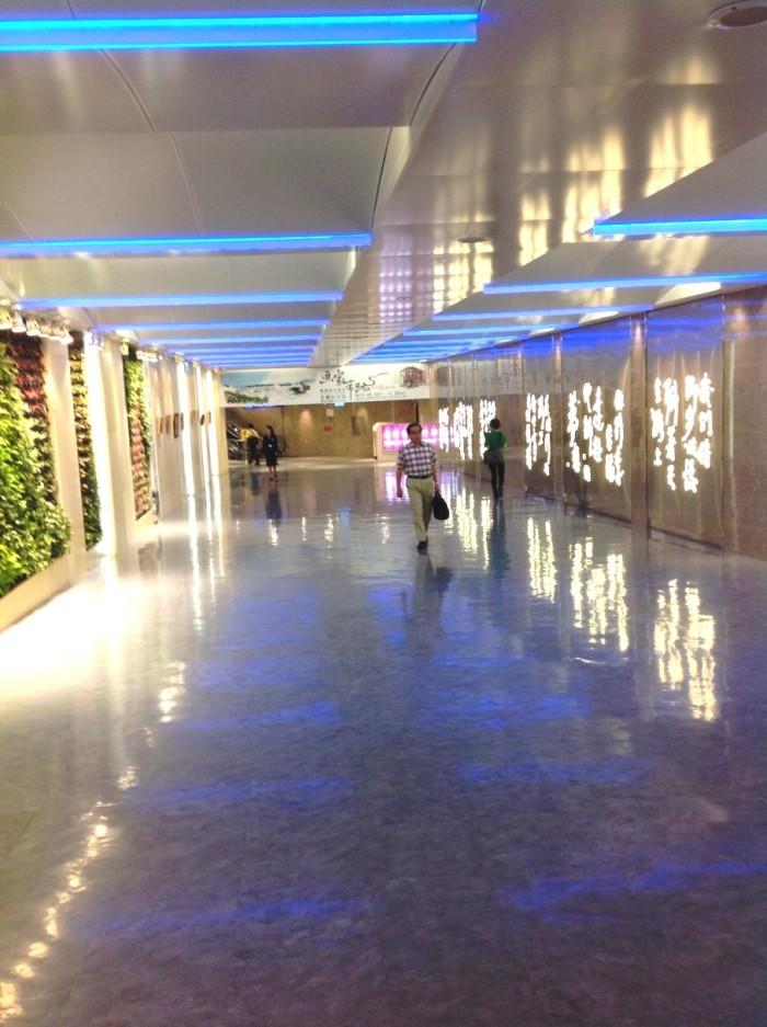 台湾桃園国際空港「とても綺麗な空港でした」