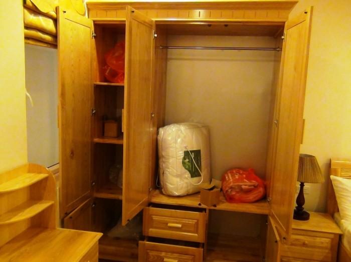 2ベッドルームのサブベッドルームにあるクローゼット