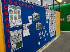 Concordia Communityの掲示版