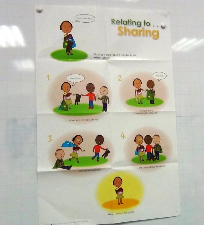 低学年の子供たちに「シェアすることの大切さ」教えてくれる教材