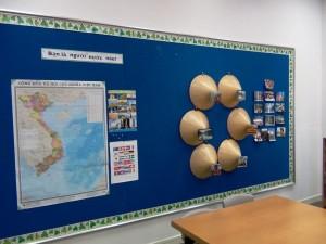 ベトナム語と文化を学ぶ授業もあります
