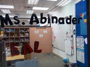 EALの教室「学年に合わせて複数教室用意されています」
