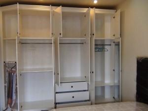 サブベッドルームの収納クローゼット