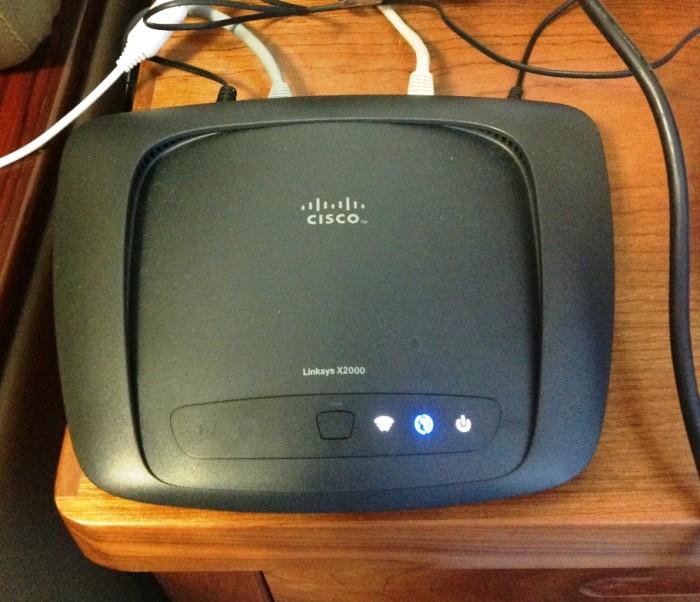 CISCOのワイヤレスアクセスポイント(無線モデム)