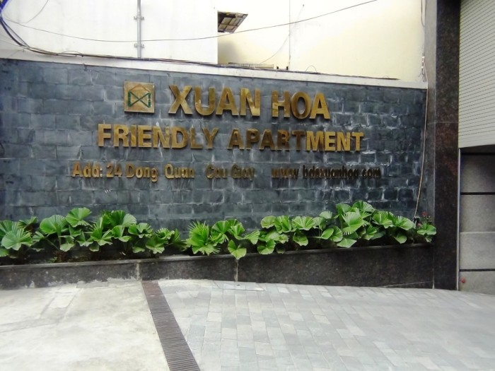 「Dong Quan通り」の新築サービスアパート