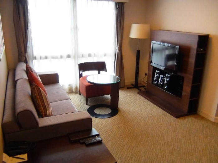 2ベッドルーム(85㎡)のリビングスペース