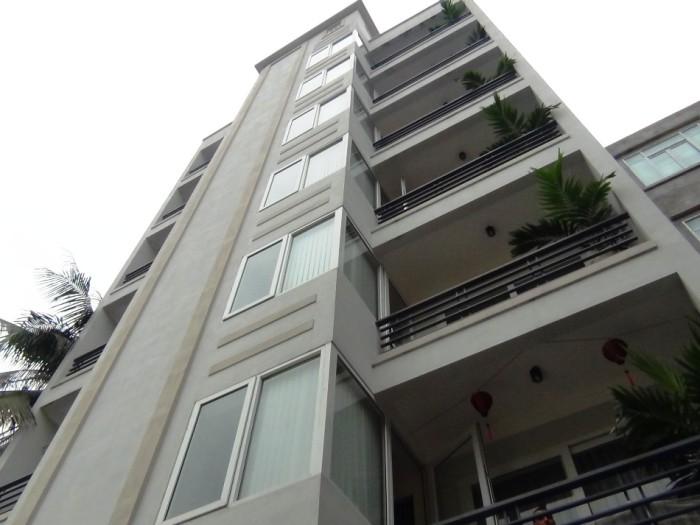 Doan Ke Thien通り【新築】の裏側から見た全容